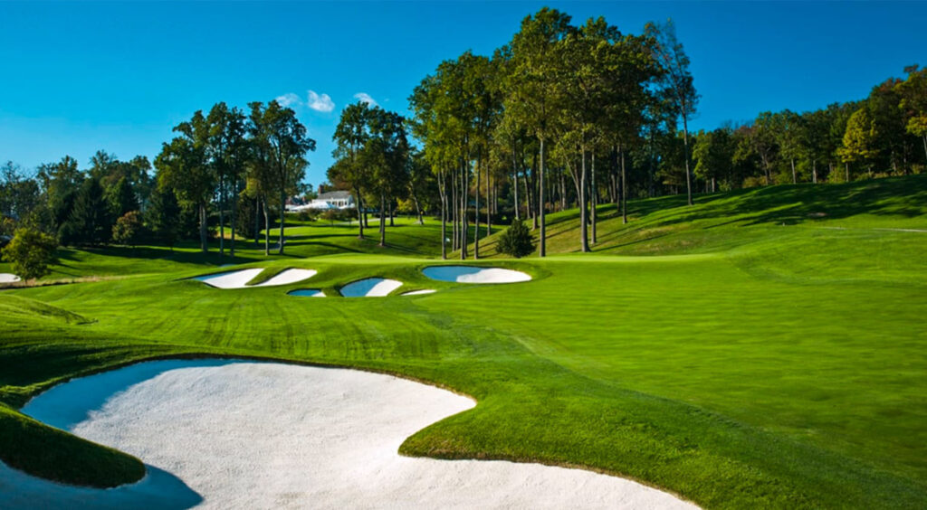 The BMW Championship at the Caves Valley Golf Club