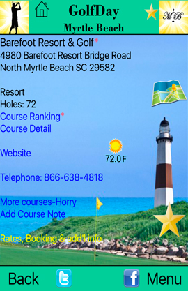 GolfDay Myrtle Beach Barefoot